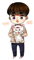 kyungsoo and candy by poohzuru