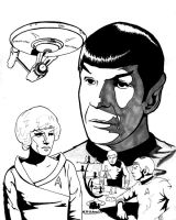 Star Trek- Mr. Spock by Krayola-Kidd
