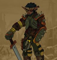 Wasteland Soldier by spohniscool