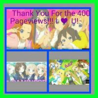 ~THANK YOU FOR THE 400 PAGEVIEWS!! by usonamyshadamy