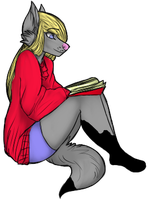 Flip of Chatlands Female Anthro by sing89657