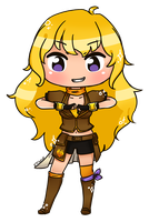 RWBY: Yang Xiao Long by KT-Chewy