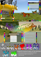 Colourful Texture pack v2 NEW DOWNLOAD LINK by Arkare