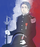 inspector javert by Vixichi