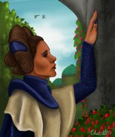 Leia visits her mother on Naboo by halfpennyro04