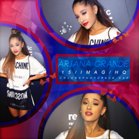 Photopack de Ariana Grande by ColorsPhotopack