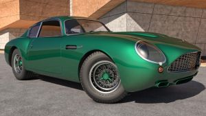 1960 Aston Martin DB4 GT Zagato by SamCurry