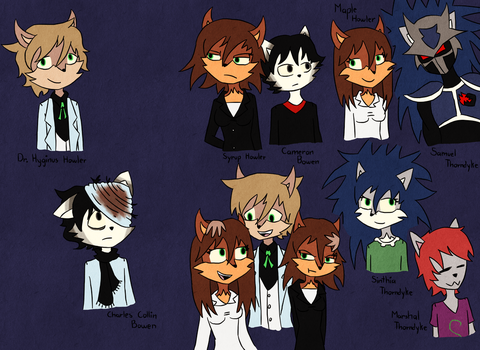 The Howler's Family Tree by Teddienator1007
