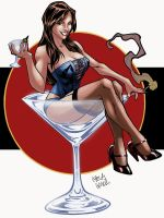 Martini girl by logicfun