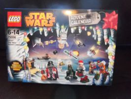 Lego Star Wars Advent Calendar 2014 by burningdiotoir