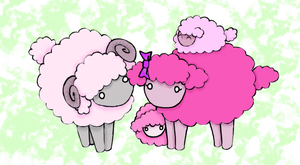 Sheepy Family by Pumpkin-Queen-Ildi