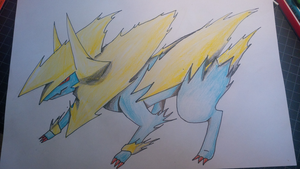 Mega manectric by Quickiler