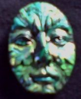 greenman magnet in green by aradia1015