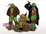 TMNT: SAINW 2012 Redesign by P-JoArt
