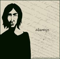 Snape. Always. by moonytash