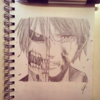 AOT/SNK sketch by atta9