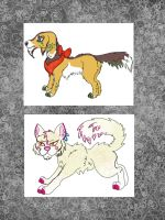 Sparkle Cat and Dog Adoptables by Chickfila-Chick