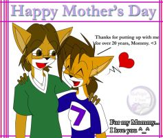 Happy Mother's day by MidNight-Vixen