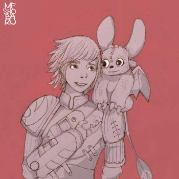 Hiccup and Toothless by mfshobaru