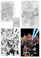 Legion 42 cover process by manapul