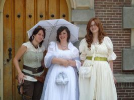 ladies at castlefest 2010 by Eve-of-WinterStar