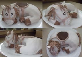 Horse cake ^^ by pushis33
