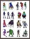 Abstract character color concepts5 by PoetryMan1