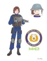 Special Assault Team's Natsumi in MW3 by Kira-Tsubasafan