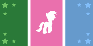 Ponyvale Flag Contest Entry #2 by ShiningWingPony