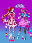 Auction_Stripes and Polka-dots(1/2 OPEN)(FIXED) by Music-X-Rose
