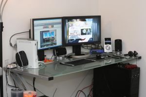 My workstation by scraggles
