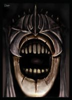 Mouth of Sauron by Digital-Dilettante