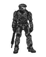 HRUNTING Powered Assault Armor by Willjay