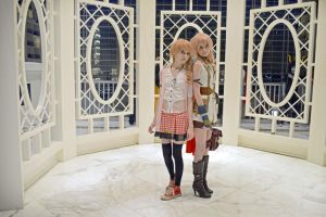 Serah and Lightning 2 by Wataru12012