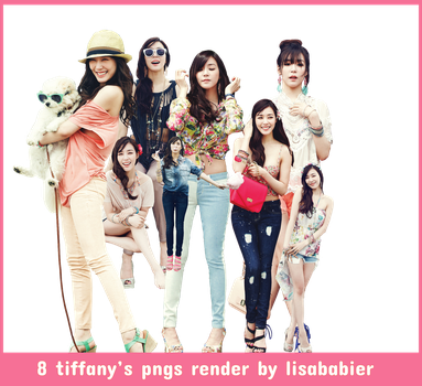 TIFFANY PNG PACK by lisababier
