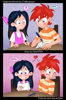 PnF - Love notes by sam-ely-ember