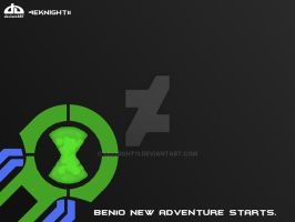 Ben 10 New Omnitrix by 4eknight11