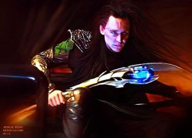 Loki - Burdened with Glorious Purpose V by AdmiralDeMoy