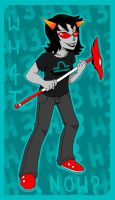 Terezi Pyrope by AwesomeBlossomPossum