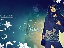 SELENA GOMEZ WALLPAPER by anaxcore