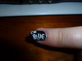 Kpop Fest Nail Art - CN Blue by kkmaree