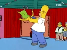 GIF - Homer spinning Marge by YonathanLagrutta