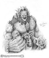 Gears of War - Berserker by BlkBullet23