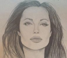 Angelina Jolie. by iFriisk