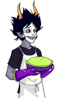 Gamzee and Pie by LargM