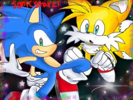 Yo tails, we goin to space! by SonicStarz1