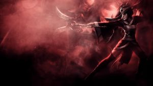 Bloodmoon Akali Wallpaper by iamsointense