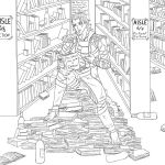 Loki The Book Master by Death-Tendency