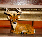Deer sculpture by Skeleion