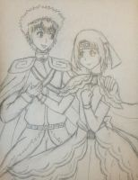 Daikari Sketch request for tsundereichigo by Hao-SamaFangirl